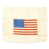 show larger image of product view 1 : Original U.S. WWII Airborne Paratrooper American Flag Invasion Jacket Patch - Unissued Original Items