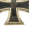 show larger image of product view 2 : Original German WWI Prussian Vaulted Iron Cross First Class 1914 marked 800 - EKI Original Items