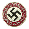 show larger image of product view 1 : Original German NSDAP Party Enamel Membership Badge Pin by Steinhauer & Lück - RZM 1/63 Original Items