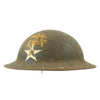show larger image of product view 3 : Original WWI U.S. M1917 Doughboy Helmet with Replicated 3rd Battalion 6th Marines Marking - 2nd Division Original Items
