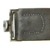 show larger image of product view 6 : Original German WWII Wehrmacht Army Heer EM/NCO Belt with Pebbled Aluminum Buckle - dated 1936 & 1938 Original Items