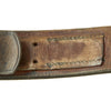 show larger image of product view 9 : Original German WWII Wehrmacht Army Heer EM/NCO Belt with Pebbled Aluminum Buckle - dated 1936 & 1938 Original Items