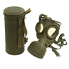 show larger image of product view 1 : Original German WWII Early Issue M30 Size 2 Gas Mask with Filter & Can - dated 1930 Original Items