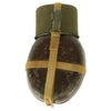 show larger image of product view 3 : Original German WWII Afrikakorps Coconut Canteen by Heinrich Ritter with Cup and Harness - 1941 & 1943 Dated Original Items