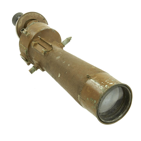 Original Japanese WWII Nikko Artillery Spotting Telescope Rifle Scope Original Items