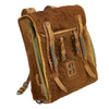 show larger image of product view 2 : Original German WWII Radio Signalman #3 Fernsprechtornister Cowhide Backpack - Dated 1940 Original Items