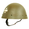 "show larger image of product view 4 : Original Czechoslovakian WWII Vz32 / M32 ""Egg-Shell"" Steel Helmet repainted Post War Original Items"