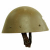 "show larger image of product view 7 : Original Czechoslovakian WWII Vz32 / M32 ""Egg-Shell"" Steel Helmet repainted Post War Original Items"
