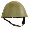 "show larger image of product view 8 : Original Czechoslovakian WWII Vz32 / M32 ""Egg-Shell"" Steel Helmet repainted Post War Original Items"