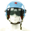 show larger image of product view 1 : Original Cold War Chinese Air Force Tk-2 Flight Helmet Original Items