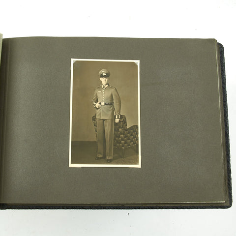 Original German WWII Army NCO Photo Album Original Items
