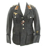 show larger image of product view 1 : Original German WWII Luftwaffe Signals Feldwebel Flight Blouse Fliegerbluse Tunic Original Items