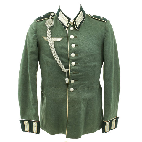 Original German WWII Infantry Officer Waffenrock Tunic - Erfurt 1936 Original Items