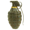show larger image of product view 1 : Original U.S. WWII Repainted MkII Inert Practice Pineapple Fragmentation Hand Grenade Original Items