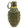 show larger image of product view 5 : Original U.S. WWII Repainted MkII Inert Practice Pineapple Fragmentation Hand Grenade Original Items