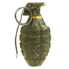 show larger image of product view 2 : Original U.S. WWII Repainted MkII Inert Practice Pineapple Fragmentation Hand Grenade Original Items