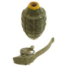 show larger image of product view 8 : Original U.S. WWII Repainted MkII Inert Practice Pineapple Fragmentation Hand Grenade Original Items