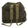 show larger image of product view 4 : Original German WWII M41 Luftwaffe Blue Tornister Backpack with Shoulder Straps Original Items