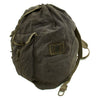 show larger image of product view 5 : Original German WWII M41 Luftwaffe Blue Tornister Backpack with Shoulder Straps Original Items