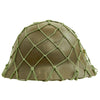 show larger image of product view 4 : Original Imperial Japanese Army WWII Last Ditch Converted Type 90 Civil Defense Helmet with Net Original Items