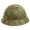 show larger image of product view 5 : Original Imperial Japanese Army WWII Last Ditch Converted Type 90 Civil Defense Helmet with Net Original Items