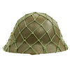 show larger image of product view 6 : Original Imperial Japanese Army WWII Last Ditch Converted Type 90 Civil Defense Helmet with Net Original Items