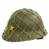 show larger image of product view 7 : Original Imperial Japanese Army WWII Last Ditch Converted Type 90 Civil Defense Helmet with Net Original Items