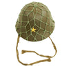 show larger image of product view 9 : Original Imperial Japanese Army WWII Last Ditch Converted Type 90 Civil Defense Helmet with Net Original Items
