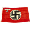 "show larger image of product view 1 : Original German WWII NSDAP Small State Service Flag 19"" x 33"" - Reichsdienstflagge Original Items"