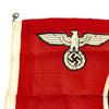 "show larger image of product view 2 : Original German WWII NSDAP Small State Service Flag 19"" x 33"" - Reichsdienstflagge Original Items"