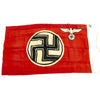 "show larger image of product view 7 : Original German WWII NSDAP Small State Service Flag 19"" x 33"" - Reichsdienstflagge Original Items"