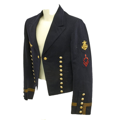 Original German WWII Kriegsmarine Reefer Jacket Original Items