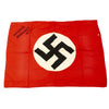 "show larger image of product view 1 : Original German WWII USGI Captured and Signed Wehrmacht Heer Army Camp Flag - 31"" x 22.5"" Original Items"