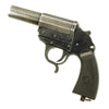 show larger image of product view 7 : Original German WWII Leuchtpistole 34 Heer Signal Flare Pistol by Walther with Holster - Dated 1943 Original Items