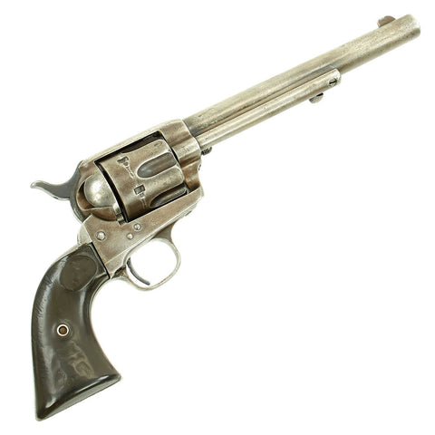 Original U.S. Colt Single Action Army .38-40 Revolver made in 1891 with Wells Fargo marking & Factory Letter Original Items