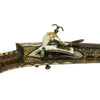 show larger image of product view 7 : Original Caucasian Miquelet Lock Jezail Musket with Extensively Inlaid Ornate Stock c. 1800 Original Items