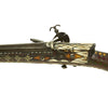 show larger image of product view 13 : Original Caucasian Miquelet Lock Jezail Musket with Extensively Inlaid Ornate Stock c. 1800 Original Items