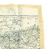 show larger image of product view 5 : Original British WWII Royal Air Force Air Ministry K3/H2 Silk Escape Map of Spain and North Africa Original Items