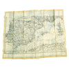 show larger image of product view 7 : Original British WWII Royal Air Force Air Ministry K3/H2 Silk Escape Map of Spain and North Africa Original Items