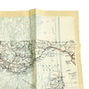 show larger image of product view 11 : Original British WWII Royal Air Force Air Ministry K3/H2 Silk Escape Map of Spain and North Africa Original Items