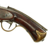 show larger image of product view 7 : Original Danish M-1772/1806/1848 Percussion Dragoon Pistol with Shoulder Stock Fitting - Serial 283 Original Items