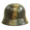 show larger image of product view 6 : Original German WWII Luftwaffe Double Decal Normandy Camouflage M35 Helmet - SE64 Original Items