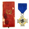 show larger image of product view 1 : Original German WWII 50 Year Civil Service Faithful Service Medal in Case Original Items