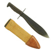 show larger image of product view 1 : Original U.S. WWI Model 1917 Bolo Knife with Canvas Scabbard by Plumb Philadelphia - dated 1918 Original Items