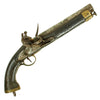 show larger image of product view 1 : Original British East India Company Flintlock Dragoon Pistol circa 1820 - Attic Find Original Items