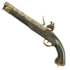 show larger image of product view 2 : Original British East India Company Flintlock Dragoon Pistol circa 1820 - Attic Find Original Items