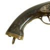 show larger image of product view 4 : Original British East India Company Flintlock Dragoon Pistol circa 1820 - Attic Find Original Items