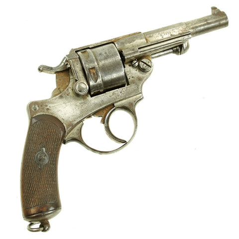 Original French Model MAS Model 1873 11mm Revolver Dated 1875 - Serial Number F53026 Original Items