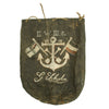 show larger image of product view 1 : Original WWI Imperial German Navy Sailor's Named Painted Sea Bag Original Items