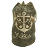 show larger image of product view 6 : Original WWI Imperial German Navy Sailor's Named Painted Sea Bag Original Items